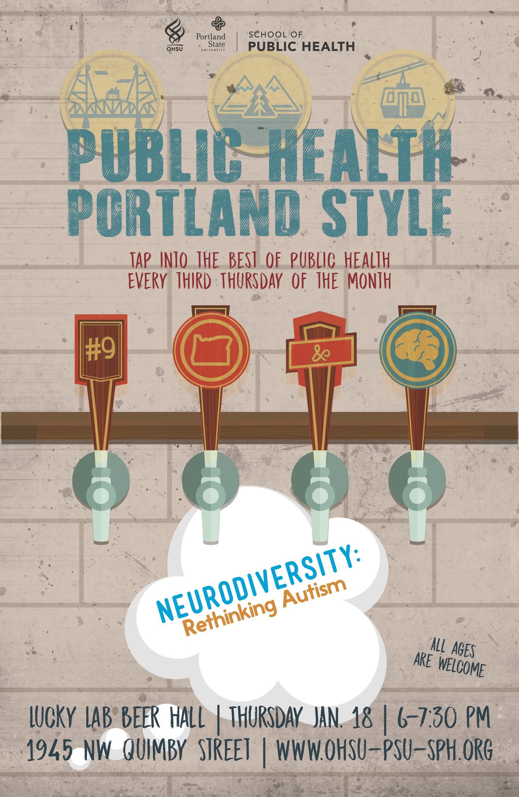 Public Health PDX Style – Neurodiversity: Rethinking Autism